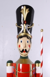 Toy Soldier with Baton 6.5ft - Red & Green (JR 170164G) - Thumbnail 02