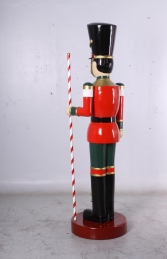 Toy Soldier with Baton 6.5ft - Red & Green (JR 170164G) - Thumbnail 03