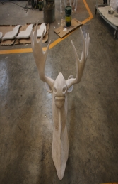 Moose Head Wall Decor Primer JR 180023P - Thumbnail 03