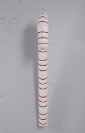 CANDY CANE 4FT HANGING RED WITH WHITE STRIPE - JR 180044 - Thumbnail 02