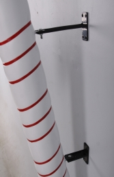 CANDY CANE 4FT HANGING RED WITH WHITE STRIPE - JR 180044 - Thumbnail 03