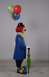 Clown with umbrella and balloons JR 180169 - Thumbnail 03