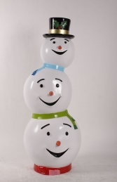 Triple Headed Snowman JR 180229 - Thumbnail 01