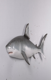 Great white shark wall decor -6ft JR 190108 - Thumbnail 01