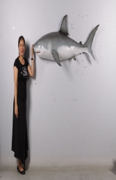 Great white shark wall decor -6ft JR 190108 - Thumbnail 03