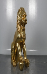 Foo Dog - JR 190161GL - right leg up -male