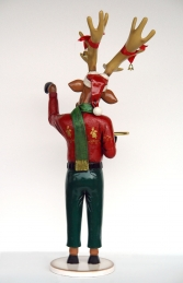 Funny Reindeer Male 6.75ft (JR HU) - Thumbnail 03