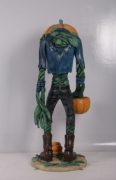 SCARY PUMPKIN MAN WITH CANDY HOLDER - JR 200009 - Thumbnail 02