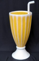 Orange Juice in a Glass 3.5ft (JR 2482)