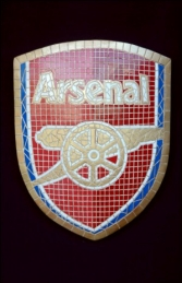 Arsenal Mosaic Sign (JR 2661)