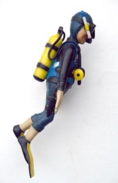 Funny Scuba Diver 3ft Swimming (JR FX) - Thumbnail 03