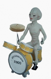 Alien Encounter - Drummer 2ft (JR 1552) - Thumbnail 03