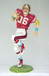 American Football Player Lifesize (JR 1619) - Thumbnail 01