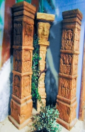 Aztec Column 7ft (JR F-001) - Thumbnail 03