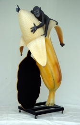 Banana with Monkey and with Black-board 6ft (JR 1437)