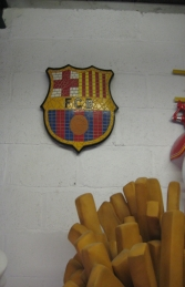 Barcelona F.C. Mosaic Football Sign (JR 2655) - Thumbnail 03