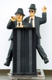 Blues Brothers 3ft CD Rack (JR 1878)