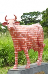 Brick Cow life-size (JR 7007)