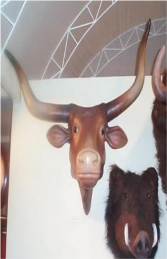 Bull Head (With Long Horns) (JR 2272-A) - Thumbnail 01