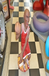 Basketball Player Caricature (JR 2945)