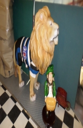 Lion King Standing- Bath Rugby (JR 2355B) - Thumbnail 01