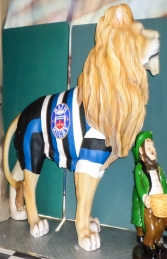 Lion King Standing- Bath Rugby (JR 2355B) - Thumbnail 03