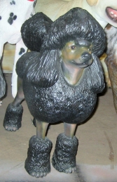 Poodle Dog - Black (JR 2986) - Thumbnail 03