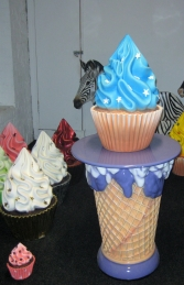Blue Cupcake 2ft ( JR 2822) - Thumbnail 02