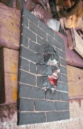 Brick Panel with Scary Face (JR S-001) - Thumbnail 02