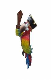 PIRATE PARROT ONE EYE WITHOUT STAND - JR C-073 - Thumbnail 02