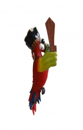 PIRATE PARROT ONE EYE WITHOUT STAND - JR C-073 - Thumbnail 03