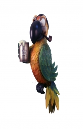 PIRATE PARROT PIPE WITHOUT STAND - JR C-075
