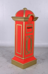 Mail Box - Red and Gold (JR CC002) - Thumbnail 03