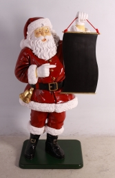 Santa with Menu Board ( JR CCMB4) - Thumbnail 01