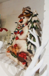 Candle Holder Snowman (JR 1161) - Thumbnail 02