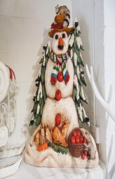 Candle Holder Snowman (JR 1161)