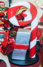 Candy Cane with gift boxes (JR S-165) - Thumbnail 03