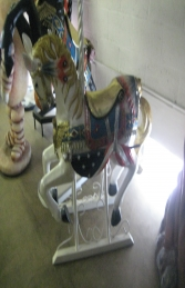 Carousel Horse with Metal Base 4.5ft (JR 2114-MB) - Thumbnail 02