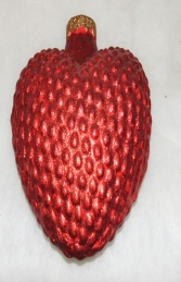 Christmas Decor Heart -Red (JR 1179-D) - Thumbnail 02