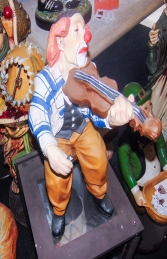 Clown with Violin (JR 355) - Thumbnail 03