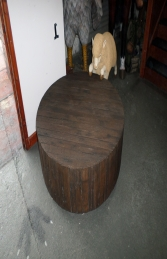 Coffee Table - Wood Effect (JR 140051W) - Thumbnail 01
