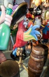 Parrot with Hat on Stand  - Comical (JR C-067)  - Thumbnail 02