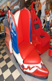 Chair - Cowboy Boot Chair (JR 5039) - Thumbnail 03