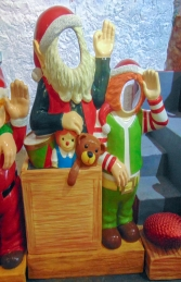 Crazy Elves with toys Photo Op (JR S-167) - Thumbnail 02