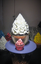 Gold Leaf Cupcake 2ft (JR 2829) - Thumbnail 02