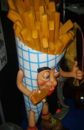 Chip Cone - French Fries 6ft (JR 1144) - Thumbnail 02