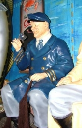 Seated Old Sea Captain life-size (JR OSC) - Thumbnail 02