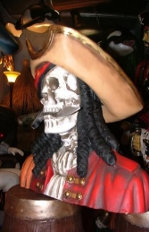 Pirate Skull Bust - Royal (JR 2434)