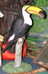 Toucan on Perch 3.5ft (JR 2361)