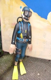 Funny Scuba Diver 3ft Swimming (JR FX) - Thumbnail 01